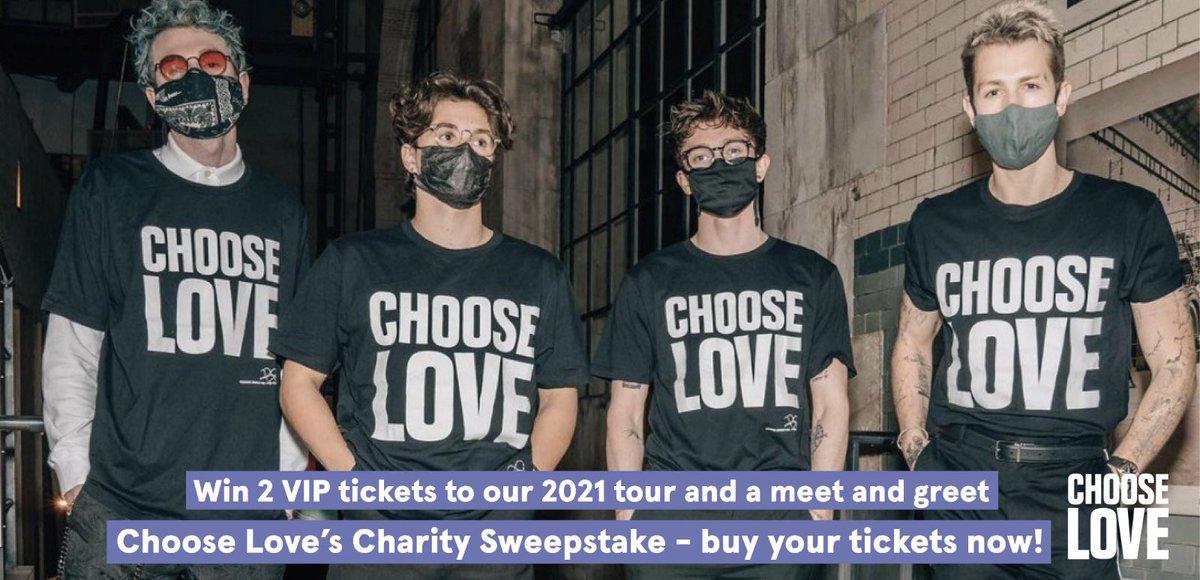 🌸 @chooselove 🌸 charitystars.com/sweepstake/2-t…