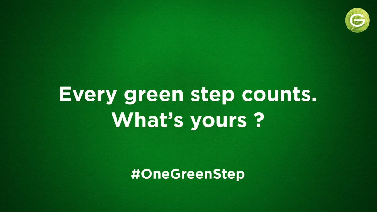 At Garnier we are taking green steps - in 2020 we launched our end-to-end approach to sustainability, Green Beauty - in 2021 we want to take this further! Every Green Step counts, what is your #OneGreenStep? @Plastics4change @OurOcean #sustainability #GreenBeauty