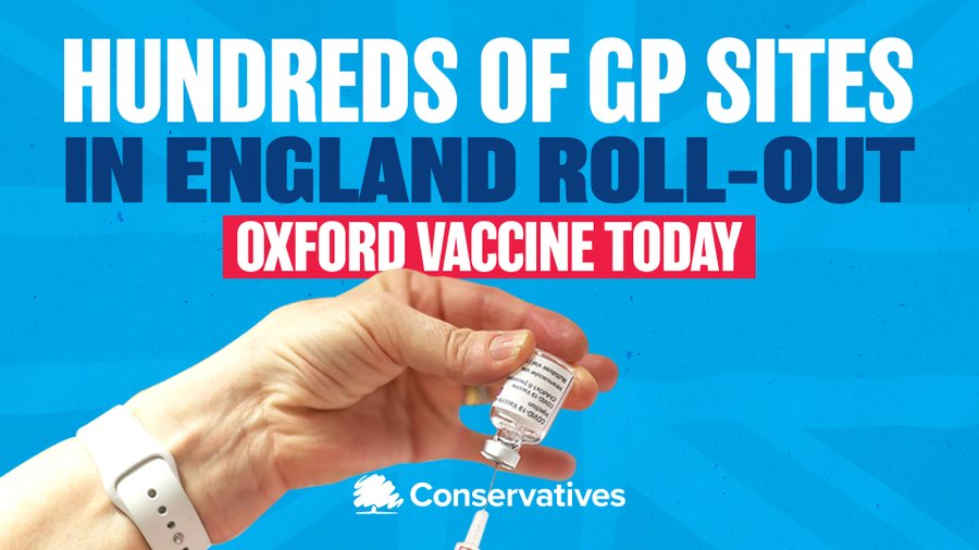 We are ramping up the vaccine rollout to ensure our most vulnerable are protected. 💉🙏🇬🇧🦠💉🙏🇬🇧🦠