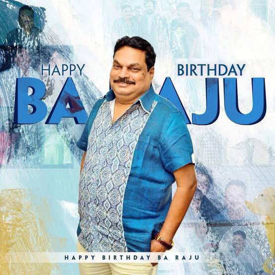 Wishing @baraju_SuperHit Garu a very happy birthday...have a great year ahead sir