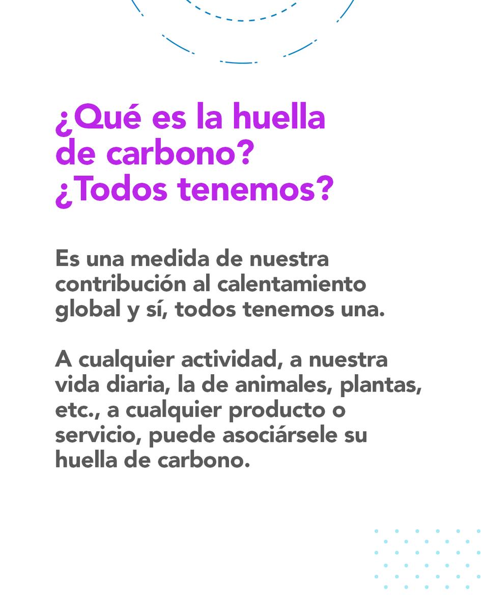 #HablemosDe Huella de Carbono https://t.co/mWMM8B89NR