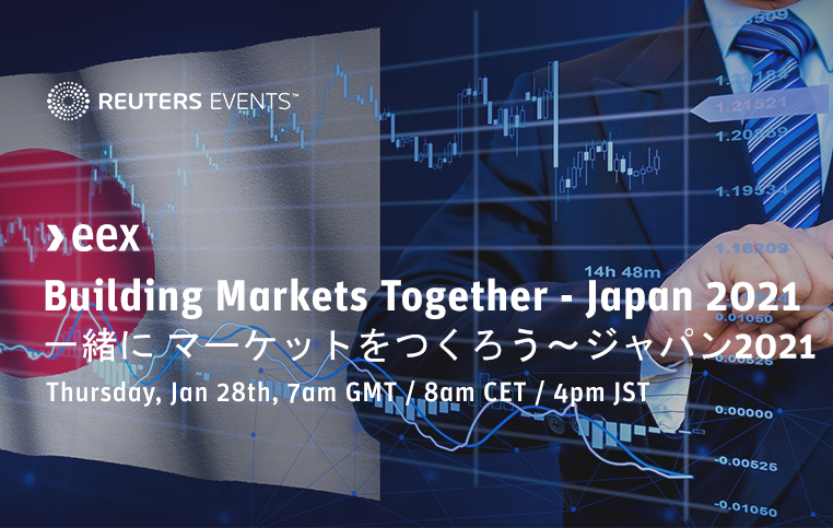 Join our COO, Richard Everett at the Building Markets Together - Japan Summit on 28 January, hosted by #EEX. The summit will examine the next steps required to develop one of the most dynamic markets in the world today. Register here https://t.co/ppqCojzud4