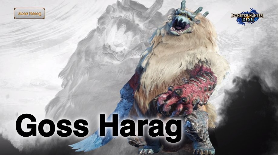 monster hunter goss harag