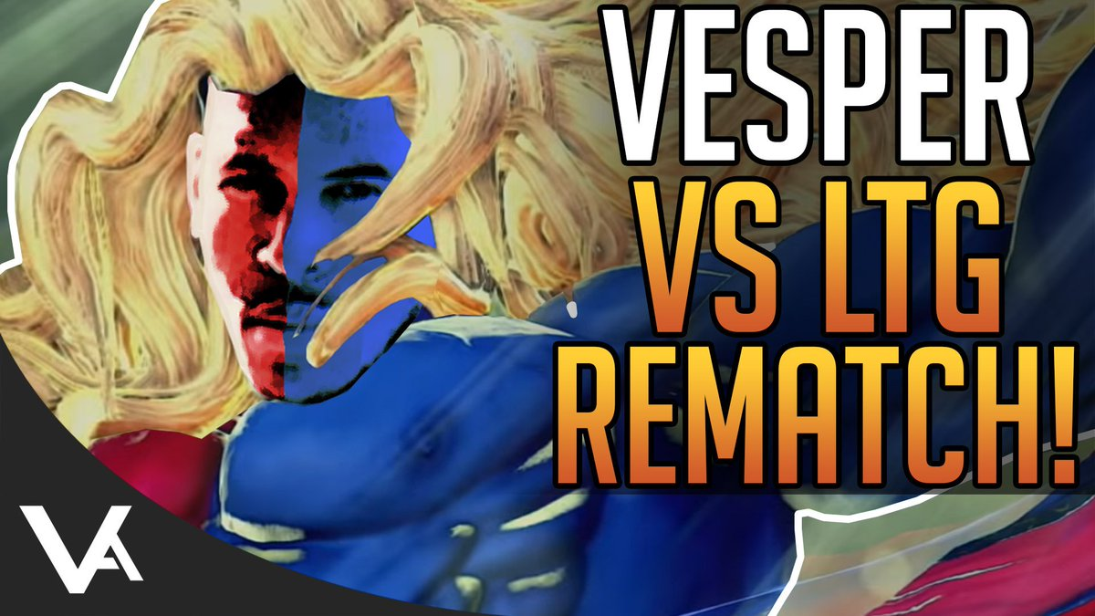 VesperArcade - I Ran Into LowTierGod Again! Ken Ranked Online Matches