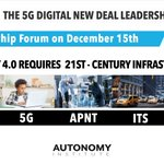 Image for the Tweet beginning: The 5G Digital New Deal