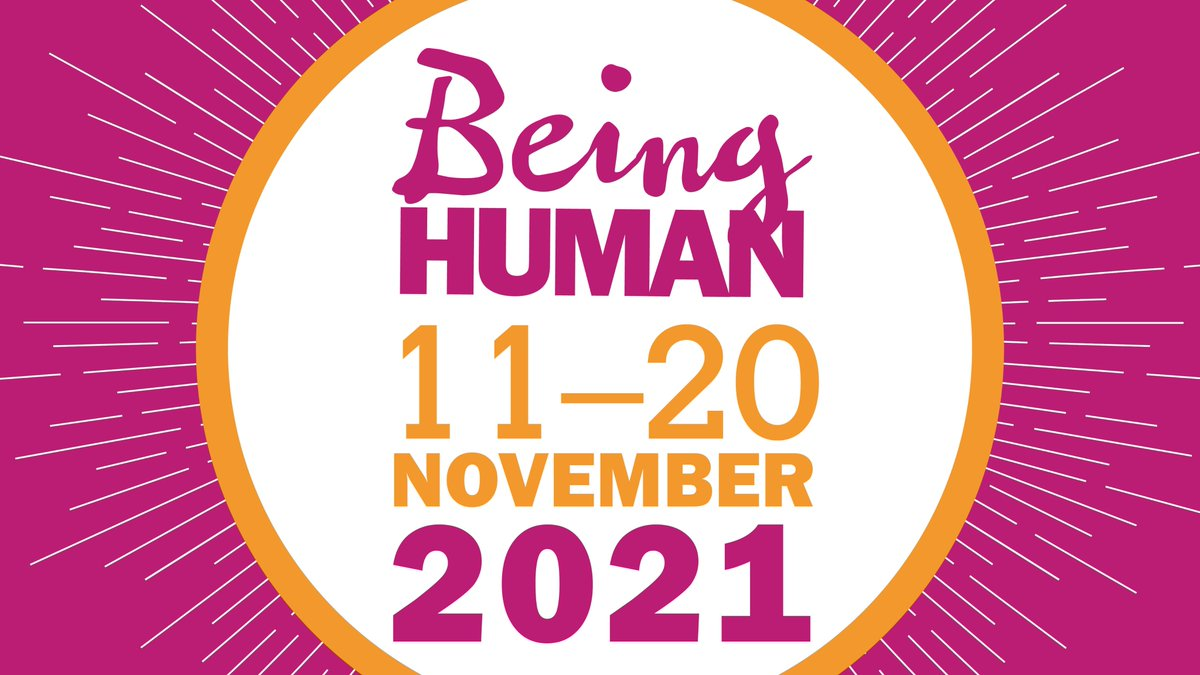 *Apologies! We got our dates wrong before... lets try again! 📢 Some news to brighten this gloomy January: Being Human fest will return 11–20 November 2021! ⛅️ Following a turbulent year, weve decided to keep it simple and stick to the theme of Being Human. More info soon!