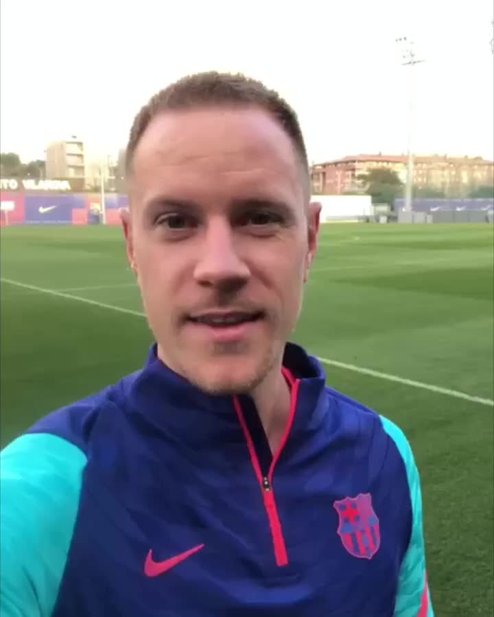 Replying to @FCBarcelona_es: 👋 Culers 💙❤️ Un mensaje muy especial de @mterstegen1