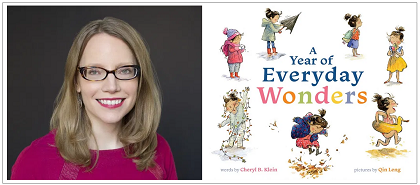 test Twitter Media - Welcome Cheryl B. Klein to our Virtual Book Tour! The author stops by to talk about her new picture book, A Year of Everyday Wonders. Visit our blog for an exclusive interview, activities and much more! https://t.co/4g1Ztt0uDH @chavelaque @abramskids https://t.co/O8nOIqzI0a