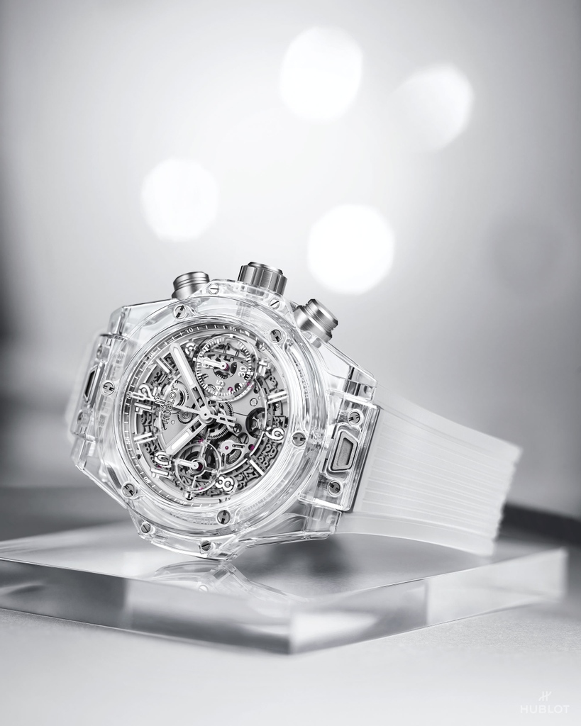 #BigBangUnico Sapphire. When architecture and transparency result in something spectacular.