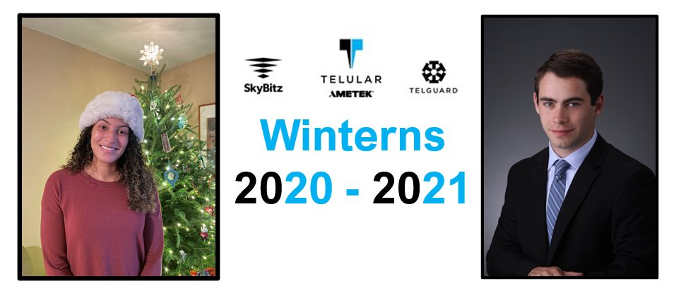 Telular AMETEK is now powered by Winterns! We are thrilled to welcome Sydney Stroud and Michael Menaker into our 'winternship' program where they will have a chance to showcase their talents and grow their skills. We look forward to seeing all that they will accomplish! https://t.co/E1ERAUflin