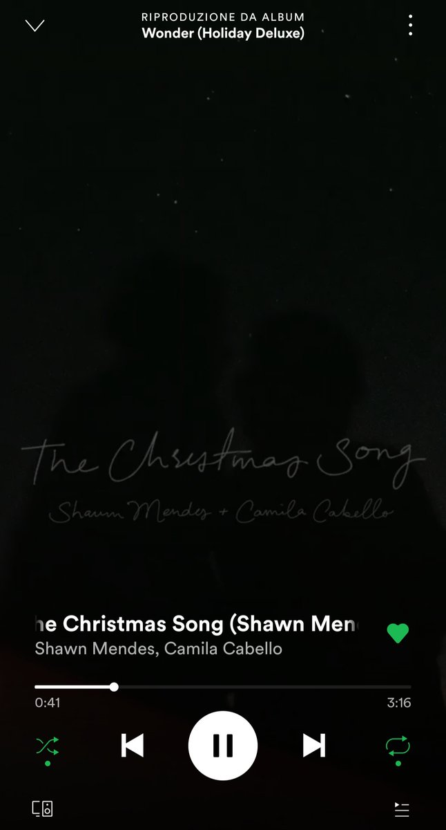 Christmas time is over but I'm still streaming #thechristmassong by @ShawnMendes and @Camila_Cabello coz I love their voices perfectly blended together❤❤