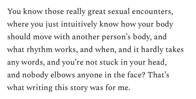 A perfectly @AllisonPDavis way to describe a perfect @AllisonPDavis story