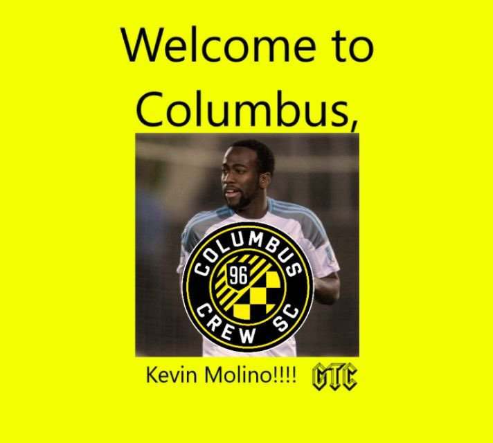 Huge moves in the off-season so far from  @ColumbusCrewSC  as we welcome @kevinmolino10 to the black and gold family 🖤💛💪🏻absolutely buzzing over this one #ColumbusCrew #Crew96 #CrewNation #GlorytoColumbus #MLS #offseason #Transfers