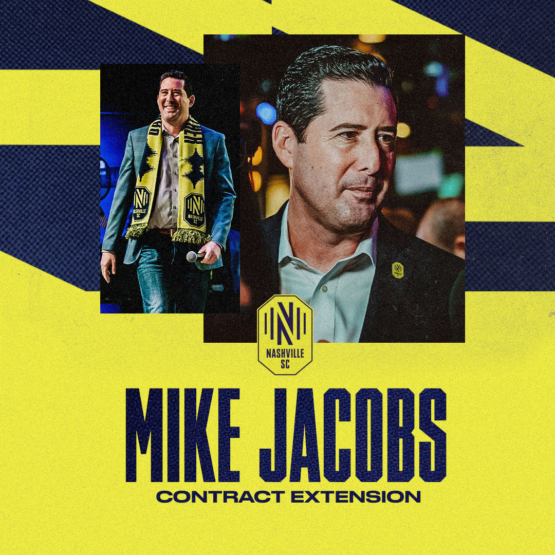 2020 laid the foundation. Now it's time to continue building.  We've extended the contract of GM Mike Jacobs through 2023.  #EveryoneN |