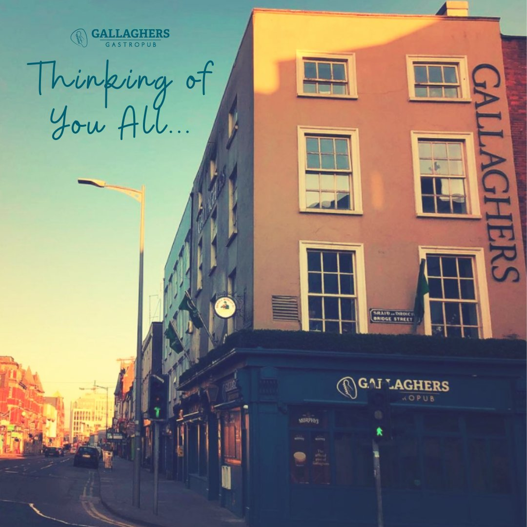 We want to send our best wishes to all of our customers, friends and followers who have been affected by the announcement of even more restrictions - here's hoping we're going to see some normality soon!#GallaghersCork #StaySafe #StayStrong #InItTogether