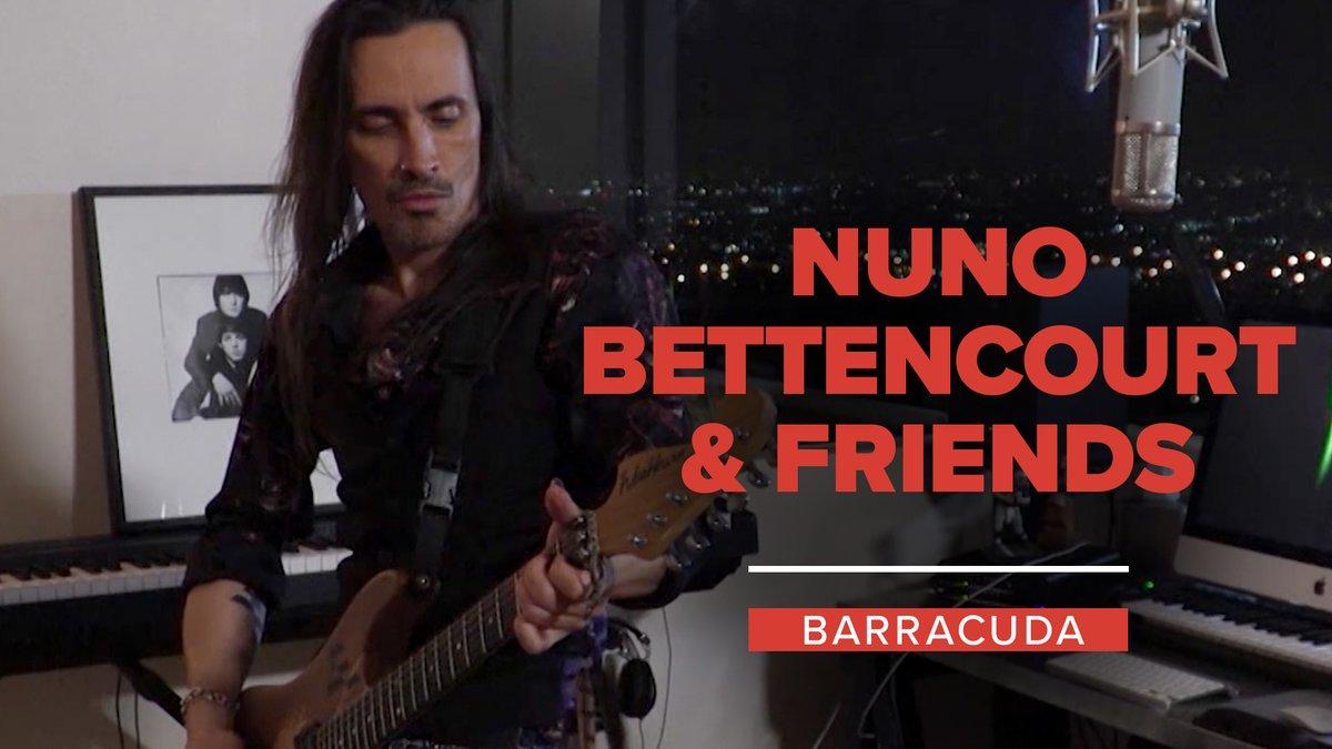 "We heard you like rock & roll, so we're giving you rock & roll. 🎶  @nunobettencourt + @NancyWilson & Taylor Hawkins of @FooFighters: ""Barracuda""  Watch the full show:"