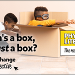 Image for the Tweet beginning: When's a box not just