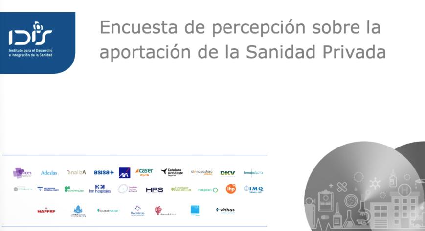 #HitosIDIS2020 | En julio realizamos junto a @sigmados una encuesta para conocer la impresión de la ciudadanía sobre #SanidadPrivada en ámbitos como su relación con la sanidad pública o su visibilidad frente a #COVID19    #EstoPasó2020