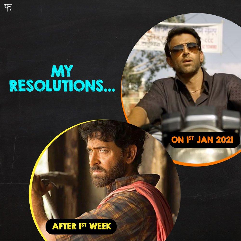 Resolutions ki ho gayi tie-tie fish! #Super30 @iHrithik