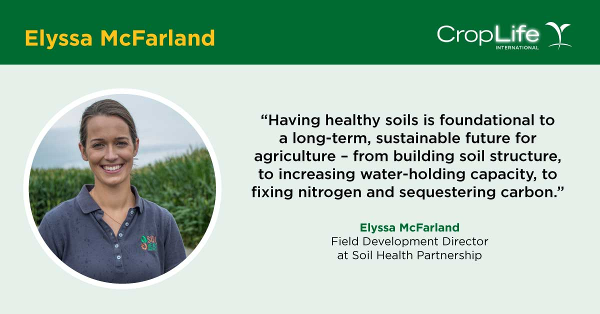 We interviewed @ElyssaMcFarland with @SoilPartners on #WorldSoilDay to learn more about the technologies and economic impacts that her group studies to promote better #soilmanagement practices. #Soilhealth #Soilbiodiversity #sustainability @NationalCorn
