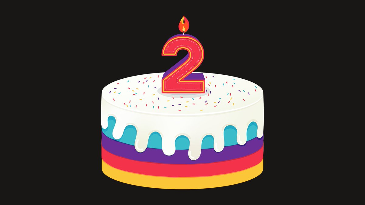 Today is our 2nd birthday!  We didn't expect to be spending it in lockdown. We should be streaming a party right now. But that'll have to wait.  For now, here's an update on how we're approaching 2021, given the current circumstances.  🎂  🎉