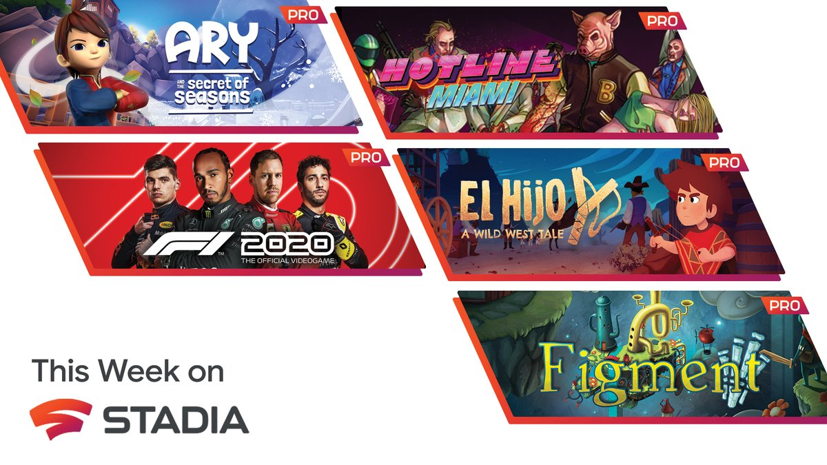 It's a new year, and that means five new games for Stadia Pro subscribers. If you haven't already, pop into Stadia and add these to your collection today.  Check out our blog for all the details: