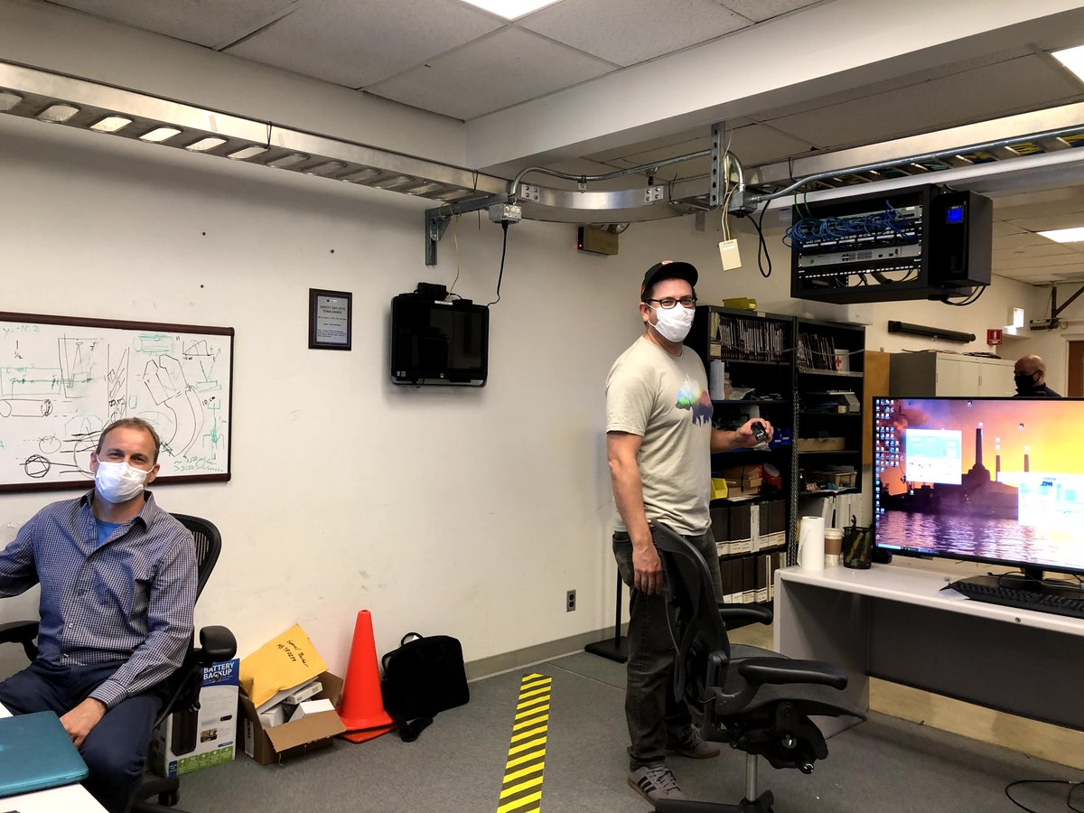 "Check out the first in a series of ATAP photo stories ""Labs in the Time of COVID: A Day in the Life""— this time featuring @BerkeleyLab's Laser Accelerator Center and showing their efforts to combine safety and productivity while working on site at the Lab. https://t.co/FepV04ZrVN https://t.co/WOr1DJAFu1"