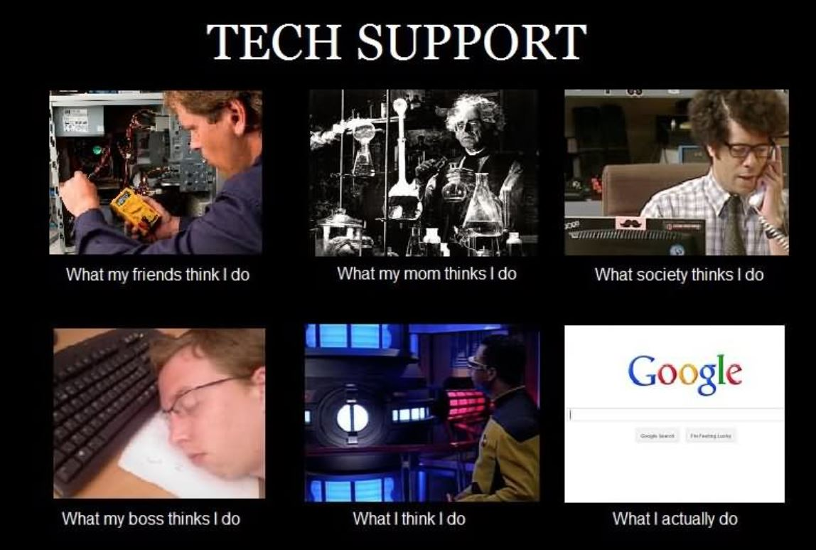 Accurate? Accurate.   #techsupport #technosupport #tech