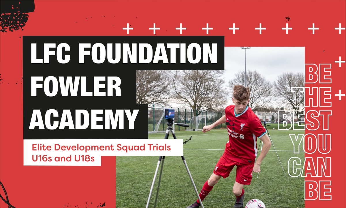Thanks to those who have registered for upcoming LFC Foundation Fowler Academy Elite Development Squad Trials.  Unfortunately, Trials have been postponed. New dates will be confirmed & communicated in future.  @fefaUK