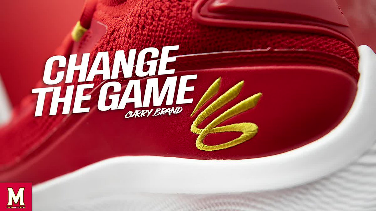 Debuting the newest from @UnderArmour and @StephenCurry30's #CurryBrand.  The Curry 8's, Maryland style 🔥