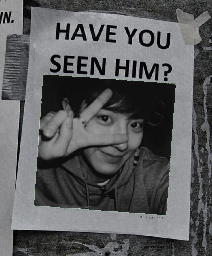Replying to @614source: Have you seen Chanyeol?👀