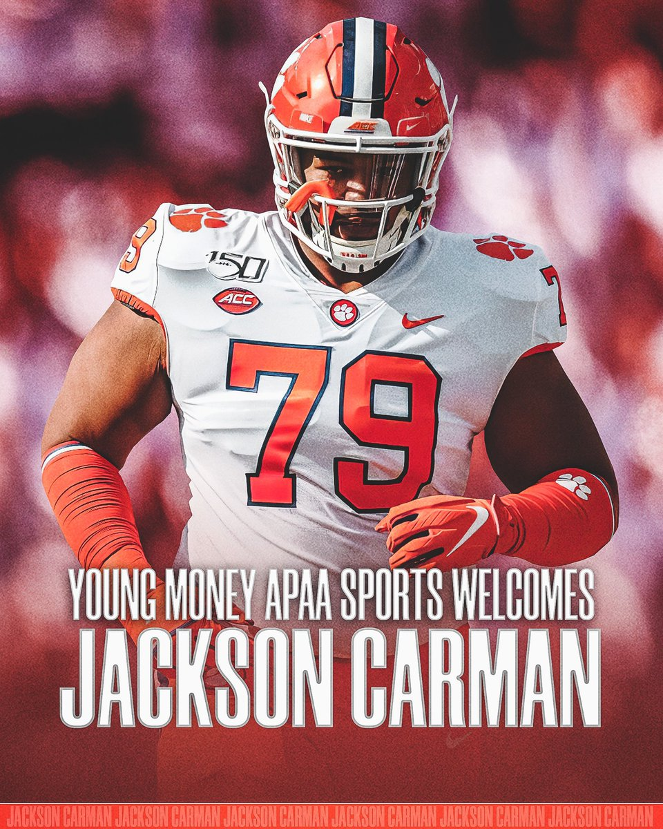 Welcome to the FAMILY! @Jackthejiant   The @ClemsonFB tackle is simply one of the best.  #YMAPAA #allin #gotigers
