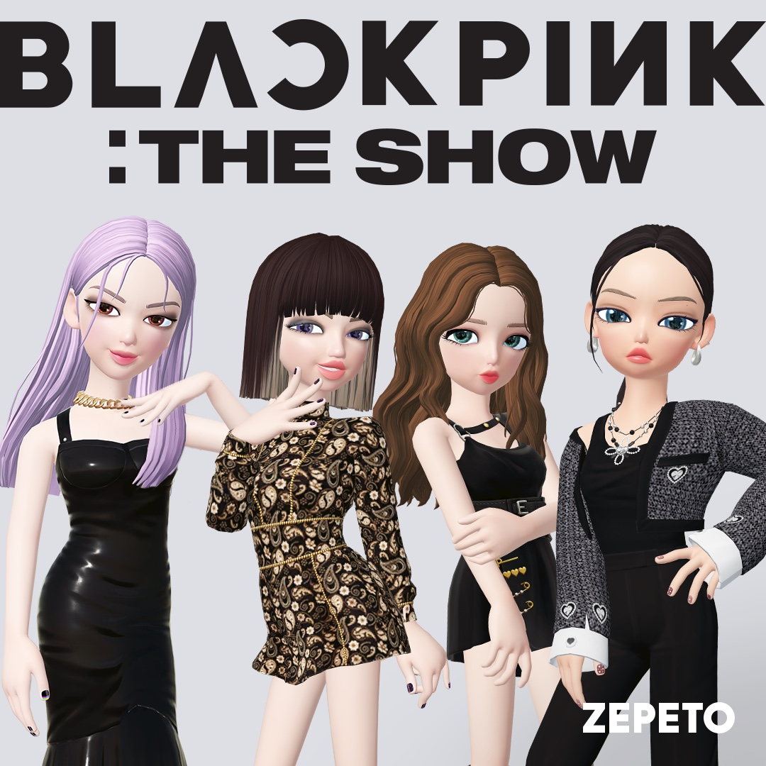 Who's excited for BLACKPINK's 'THE SHOW' concert on 1/31?✋ Wear our special party look items for BLACKPINK's online concert! 🖤💖 👉   #BLACKPINK #THESHOW #ZEPETO