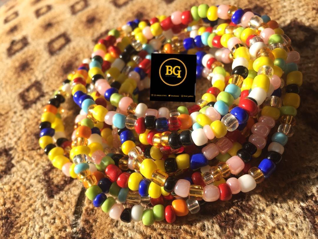 Bead_Gallery1 My WaistBead lovers❣️🙌💕 Waist bead,wey dey bring flat tummy 🙄🙄... Just a DM.....