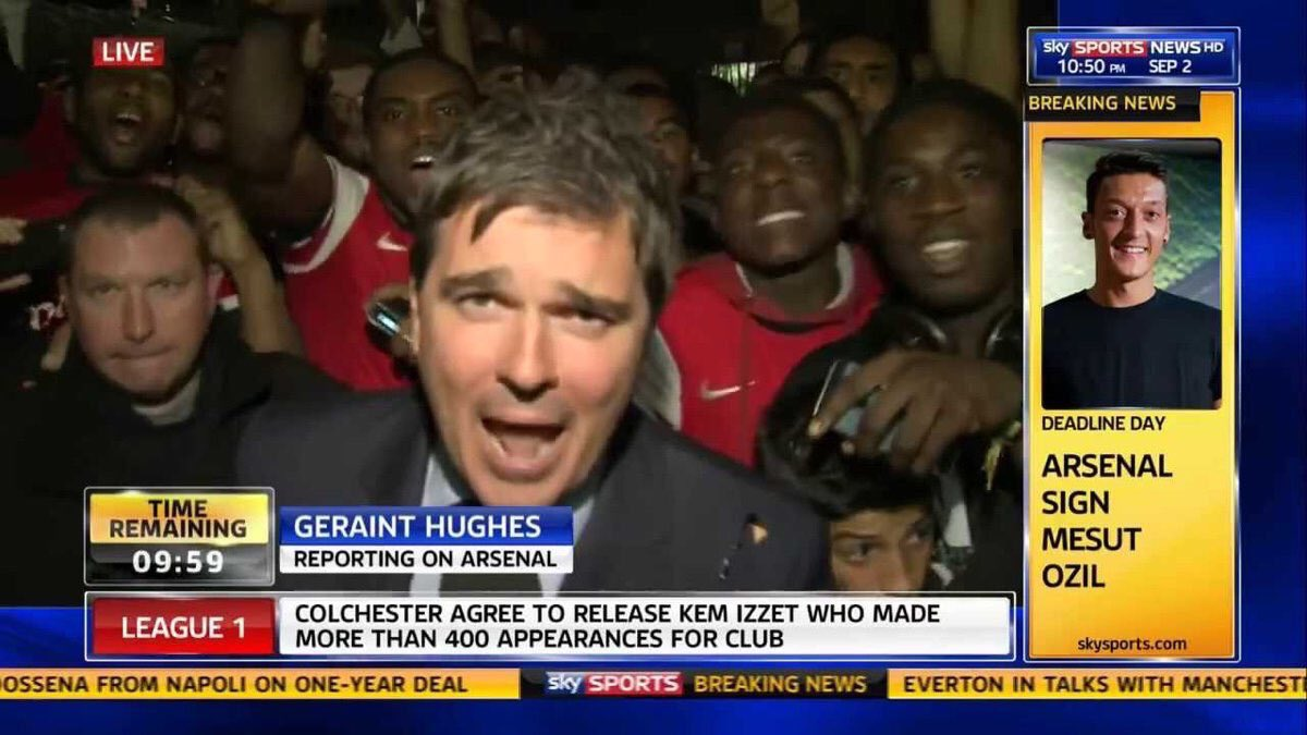 The day we signed Mesut Özil, and what a day it was. The greatest transfer deadline day signing of them all.