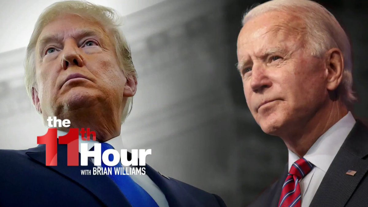 Day 7: Biden goes big on vaccines and takes more executive actions to undo the policies of his predecessor.  Here tonight:   @PhilipRucker  @ProfMMurray  @McFaul  @mtosterholm  @DrJasonJohnson  @SteveSchmidtSES   #11thHour