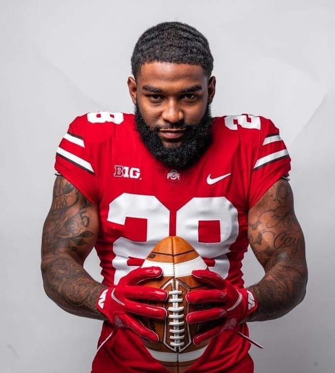 "True Freshmen MIYAN WILLIAMS @Miyann28 new slogan should be.. ""He plays like a GROWN MAN, because he LOOKS like a GROWN MAN"" 🤷🏾‍♂️🤣 Out there running over senior captains on defense like its nothing! #GOBUCKS"