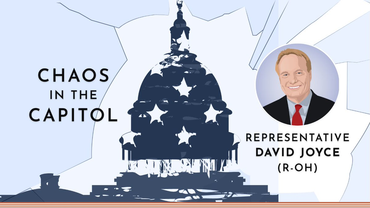 As a member of Congress present at the time of the Capitol breach, @RepDaveJoyce answers questions about law enforcement's response, future security measures, and the consequences that those involved might face in this #ASPChat. Watch in full here👉