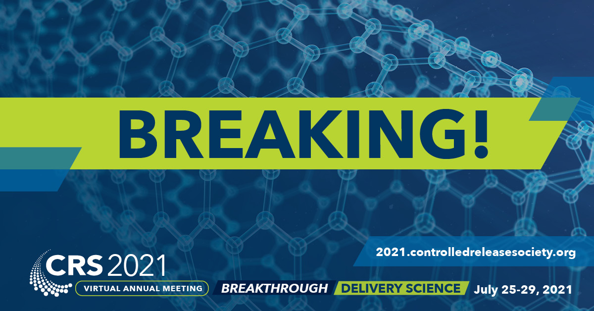 Registration for the #CRS virtual annual meeting 2021 will be opening next Monday. This year's motto: Breakthrough Delivery #Science. Don't miss it!