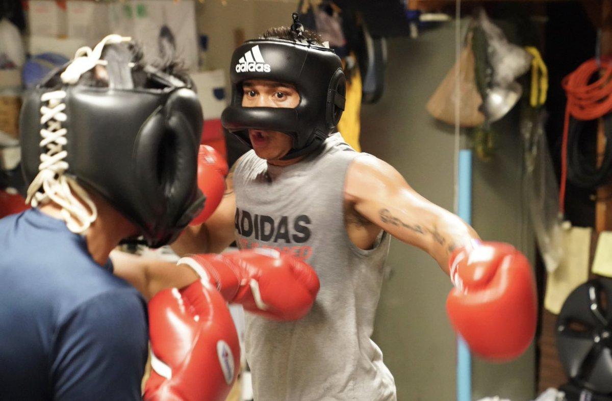 Power your game with determination and focus!!  #StayTuned #ReadyForSport #HomeTeam #AdidasBoxing #StayingReady  #MercitoGesta #Philippines #LabanParaSaBayan   @cs_adidas @adidas @mrboxingguru @chrisdessalles @WildCardBoxing1 @GoldenBoyBoxing @DAZNBoxing   📷: @NeilMacasadia