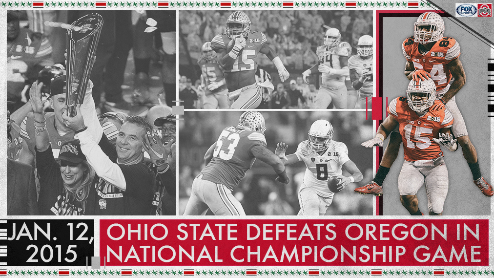 #tbt to Ohio State's first appearance in the @CFBPlayoff National Championship 🏆