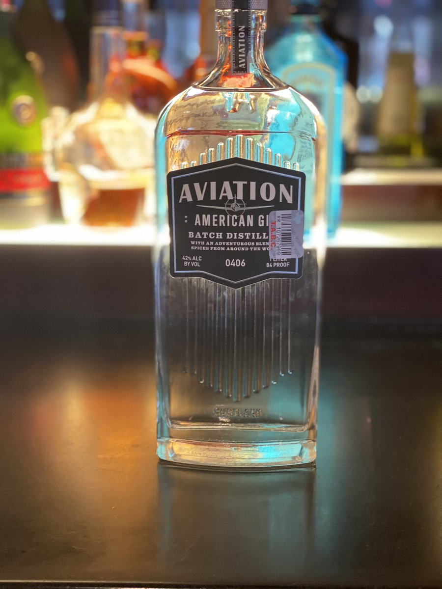 Can't wait to taste this 😋 @AviationGin