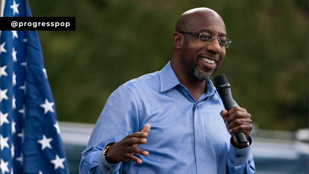 Raphael Warnock is the projected winner for the other Georgia Senate seat, defeating Sen. Kelly Loeffler by almost 65,000 votes, making Georgia's FIRST Black U.S. Senator. #raphaelwarnock (3/4)
