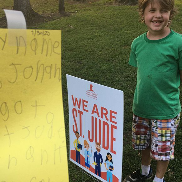 Geoff Calkins: Olive Branch resident Jonah McCoy, 8, is a patient at St. Jude Children's Research Hospital. He could teach us a thing or two about gratitude.