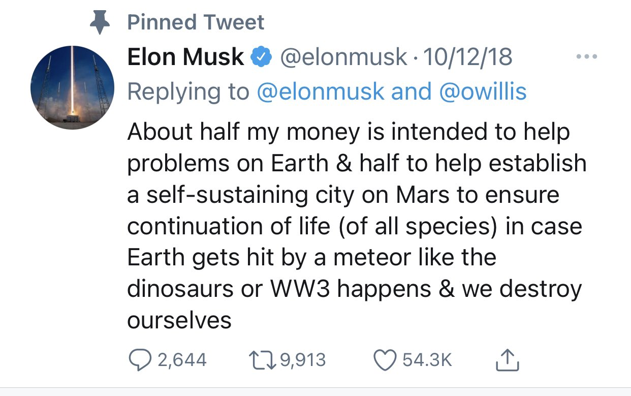 "History In Pictures on Twitter: "". @elonmusk becomes the richest person in  the world today with a net worth of $190 billion dollars. I've had the  honor of meeting him. He's definitely"
