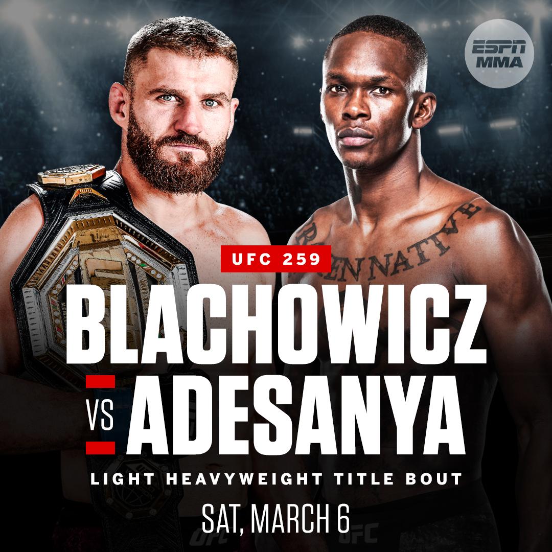 UFC 259 is looking golden 🏆🏆🏆 https://t.co/CiZ2KQ7UEX