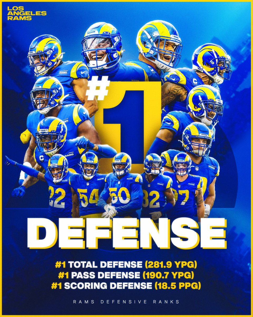 Replying to @RamsNFL: This defense is special.