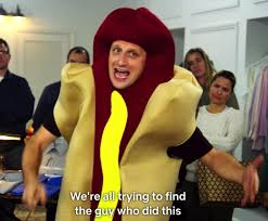 i feel like lots of people are posting this meme without having any idea of what show its from. to those of you younger than 30: seinfeld, season 7, episode 2. the hot dog man. look it up