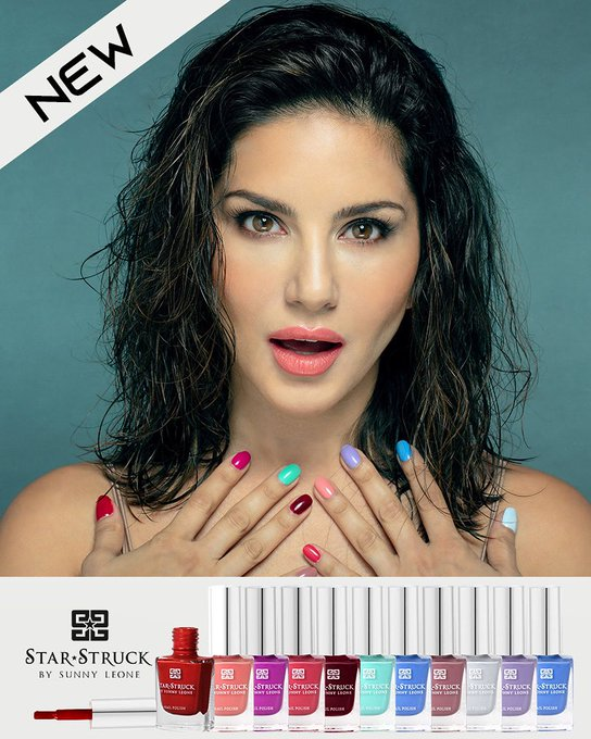 Let's change the world with Colors!! Introducing 10 new shades of #NailPolish 💅 by @starstruckbysl!!  Available