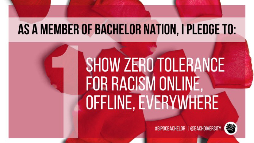 While we hope that #BachelorNation would use their platforms to speak out about democracy, systemic racism, & separate, unequal justice systems, we understand this won't always be the case.   We, however, will continue to use ours. Join us.
